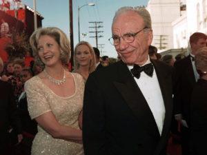 Patricia Booker & Rupert Murdoch