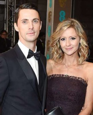 Sophie Dymoke and her husband