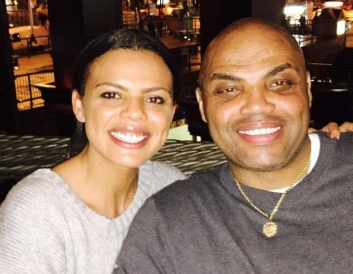 Maureen Blumhardt with Charles Barkley