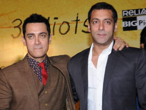 Salman Khan and Aamir Khan image