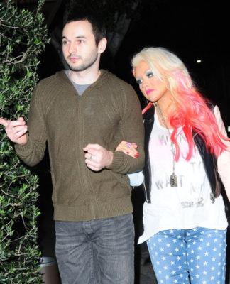 Christina Aguilera & Matthew Rutler