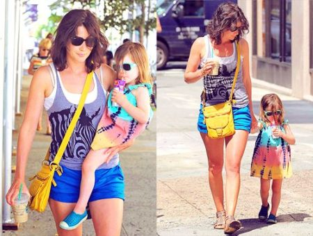Cobie Smulders and daughter Shaelyn Killam
