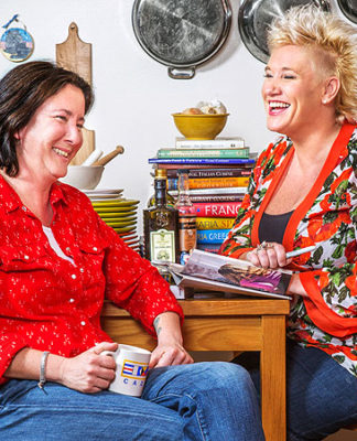 koren grieveson and anne burrell