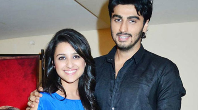 Arjun Kapoor and Parineeti Chopra 696x386