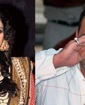 Sridevi and Sanjay Dutt image