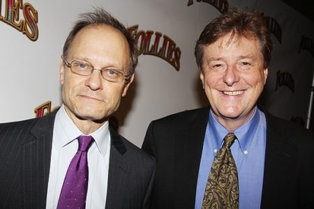 David Hyde Pierce and  Brian Hargrove  Pics