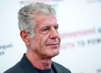 American Chef Anthony Bourdain Pics