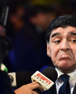 Maradona Russia Worldcup